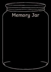 thumbnail of Memory Jar Writing Template Blank
