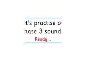 Phase 3 Phonics Revison